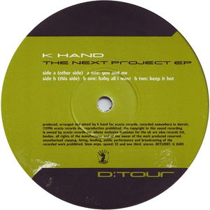 DET 12007 - D:TOUR - K. HAND - The Next Project E.P.