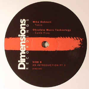 DIREC003 - DIMENSIONS Recordings - VARIOUS