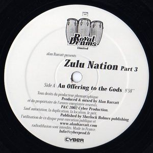 DRUM LTD 003 - ROYAL DRUMS - ALAN BARRATT - Zulu Nation Part 3