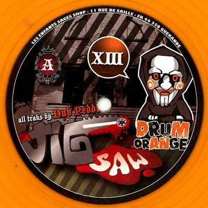 DRUM ORANGE 013 - DRUM ORANGE - DUB PEDDLA - Jig Saw / Spanish Fly