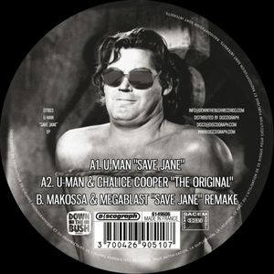 DTB-003 - DOWN THE BUSH Records - U-MAN - Save Jane