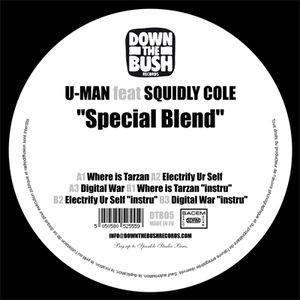 DTB05 - DOWN THE BUSH Records - U-MAN - Spécial Blend