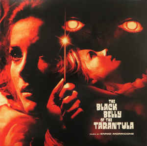 DW049 - DEATH WALTZ Recording Company ‎ - ENNIO MORRICONE - The Black Belly Of The Tarantula