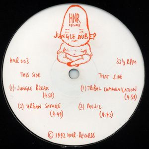 HNR 003 - HNR Records - CHRIS ENERGY - Jungle Dub E.P.