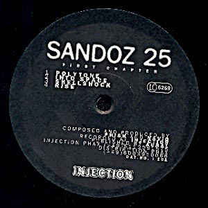 I 101 - INJECTION Records - SANDOZ 25 - First Chapter