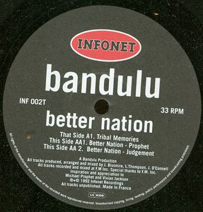 INF 002T - INFONET ELECTRONIC Recordings