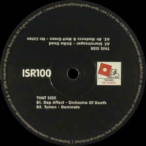 ISR100 - INDUSTRIAL STRENGHT Records - VARIOUS