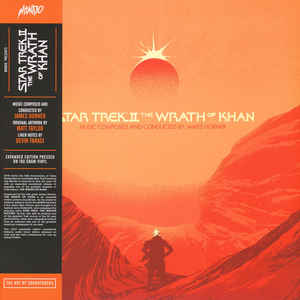 MOND-032 - MONDO - JAMES HORNER - Star Trek II: The Wrath Of Khan
