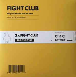 MOND-041 - MONDO - THE DUST BROTHERS - Fight Club