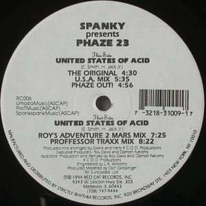 RC-006 - RED CAT Records - PHAZE 23 - United States Of Acid