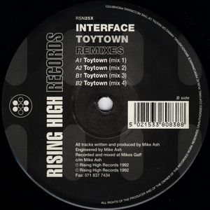 RSN25X - RISING HIGH Records