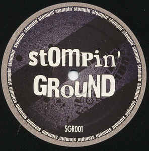 SGR 001 - STOMPIN' GROUND Records - DRAFTPUNK - Bad Day E.P.