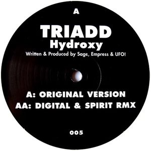 SRP 005 - SKUNKROCK PRODUCTIONS - TRIADD - Hydroxy