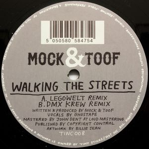 TINC 008 - TINY STICKS / M&T Inc - MOCK & TOOF - Walking The Streets