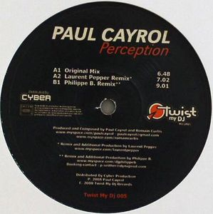 TMD005 - TWIST MY DJ Records - PAUL CAYROL - Perception
