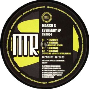 TMR004 - TECHMENT Records - MARCO G - Eveready E.P.