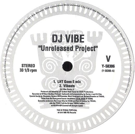Y-58306 - TRIBAL PORTUGAL - DJ VIBE - Unreleased Project