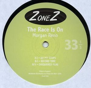 ZONEZ 004 - ZONEZ - MORGAN RENO - The Race Is On