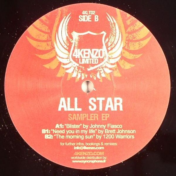 4KLTD2 - 4KENZO RECORDINGS - VARIOUS