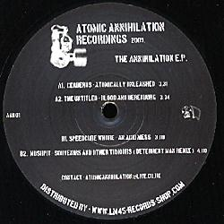 AAR01 - ATOMIC ANNIHILATION Recordings - VARIOUS
