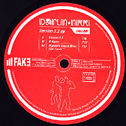 FAKE001 - FAKE Records - DARLIN' NIKKI - Version 3.3 E.P.
