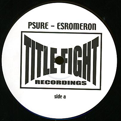 FIGHT04 - TITLE FIGHT - PSURE - Esromeron / Blue Light