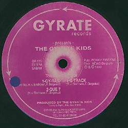 GR 005 - GYRATE Records