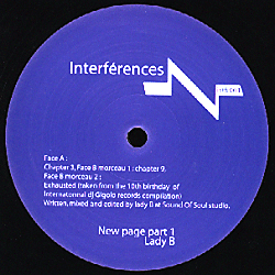 INTFR001 - INTERFÉRENCES
