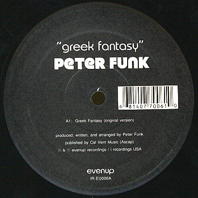 IR-EU006 - EVENUP - PETER FUNK - Greek Fantasy