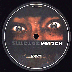 KILLU2 001 - SUICIDE WATCH - HIGH RANKIN - Cerebellum / Doom