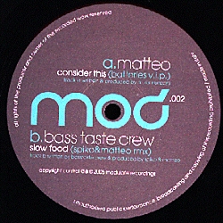 MOD 002 - MODULATE Recordings