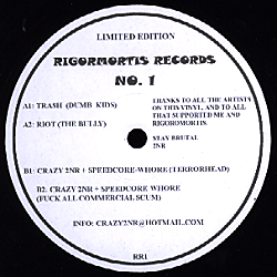 RR1 - RIGORMORTIS Records - VARIOUS