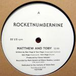 TEXT008 - TEXT Records - ROCKETNUMBERNINE - Matthew And Toby
