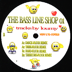 THEBASSLINESHOP01 - THE BASS LINE SHOP - LOUMY - Dance-Floor/Tribe-Floor / Hard-Floor / Tribecore-Floor